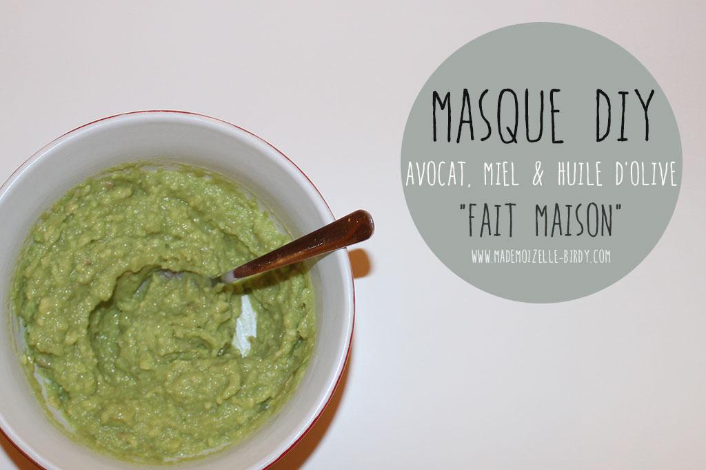 Masque fait maison hydratant avocat miel et huile d - Masque peau grasse maison ...