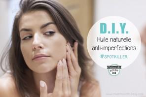 ☠ DIY ☠ Recette lotion anti-imperfections à huile essentielle d'arbre à thé and co #bouton